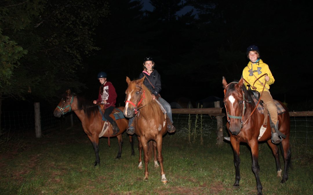 Overnight Horse Campout